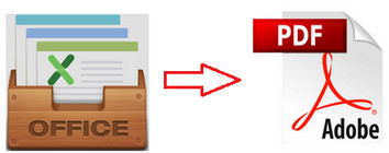 convert word or excel to pdf