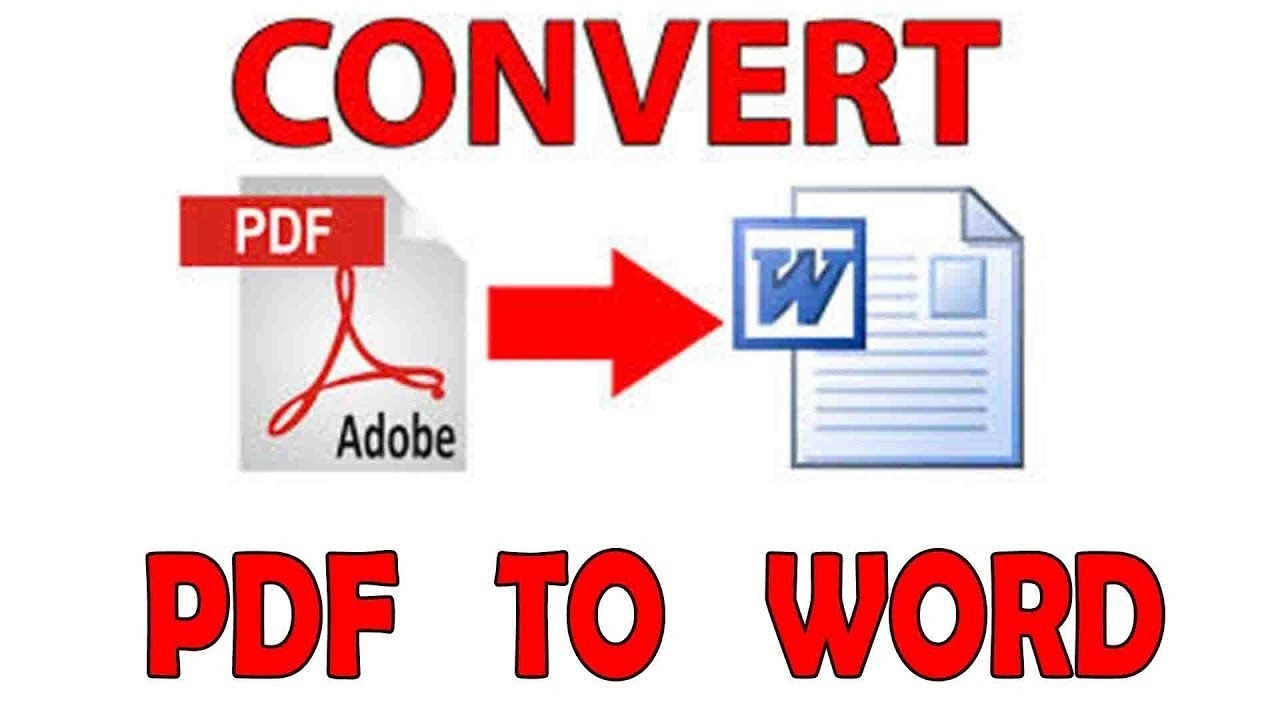 convert normal and scanned PDF files to Word files