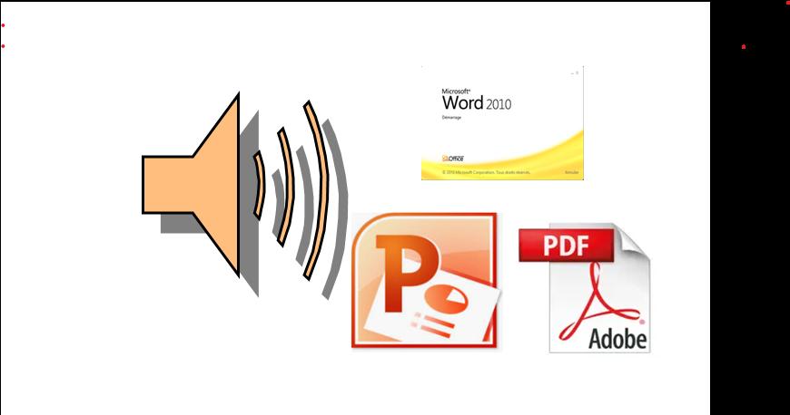 الكتابة في معالج النصوص وpower point