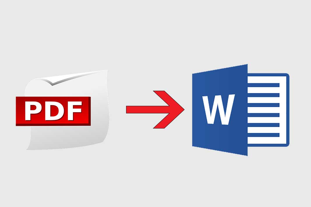 convert pdf files or text to word and make a research in any field