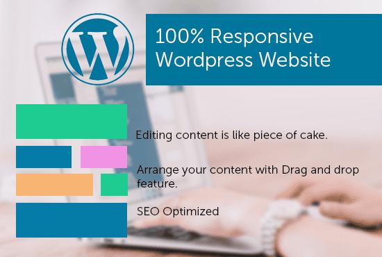 I will create awesome Wordpress Site