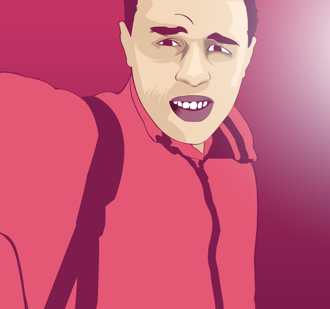 draw you vector atr ( cartoon )