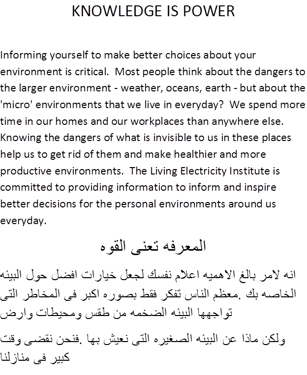 write and translate from english to arabic