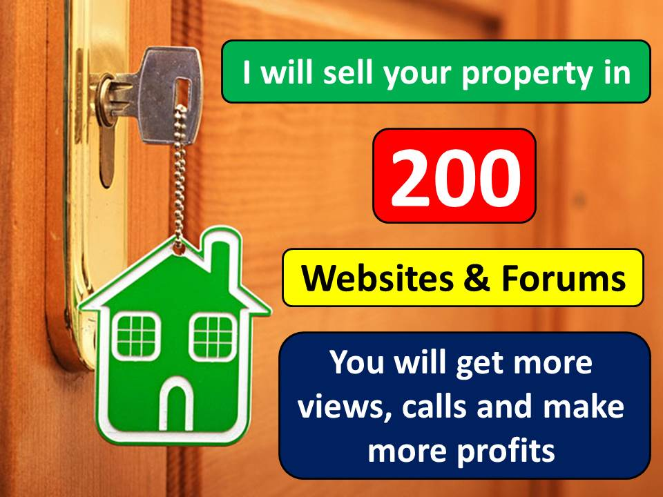 publish your property in 200 website & forum