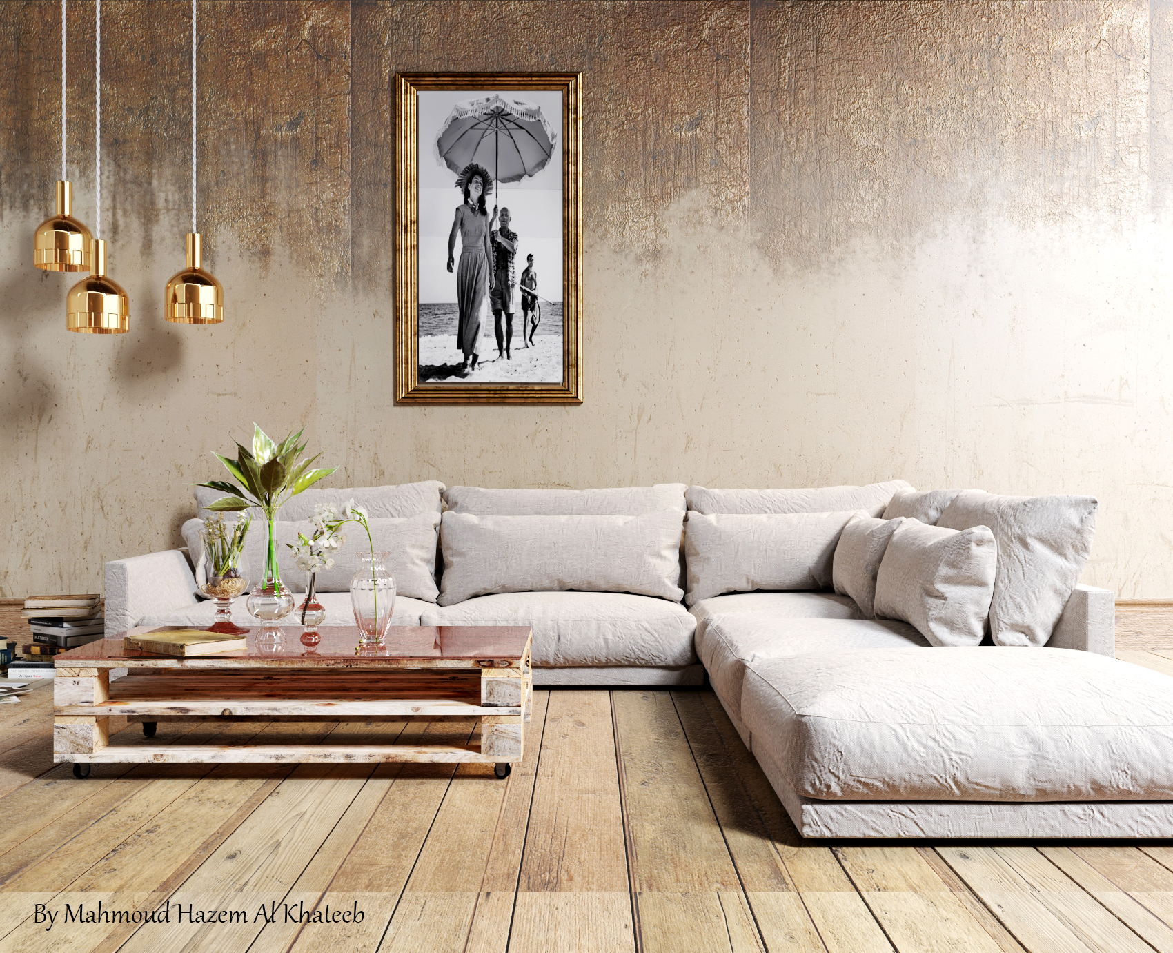 hello , I am an architecture engineer .iam interior design, I can make a design for your home